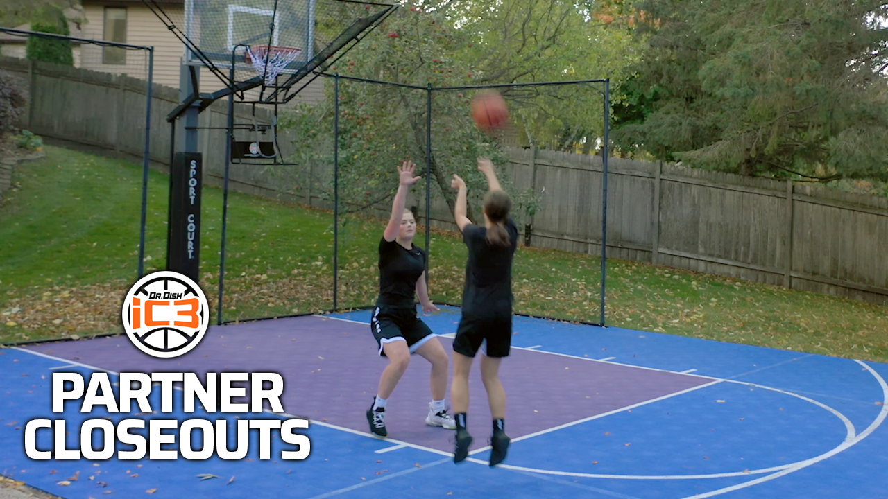 iC3 Basketball Drills: Partner Closeout and Shoot Drill