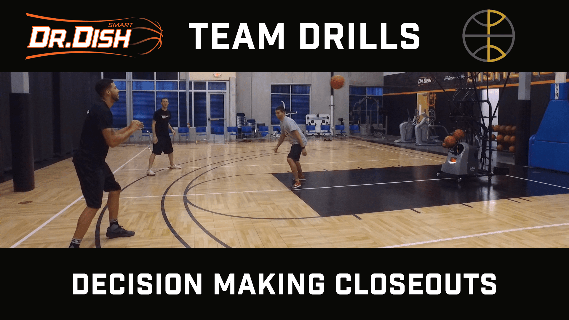 Basketball Drills: Decision Making Closeouts with Positionless Basketball