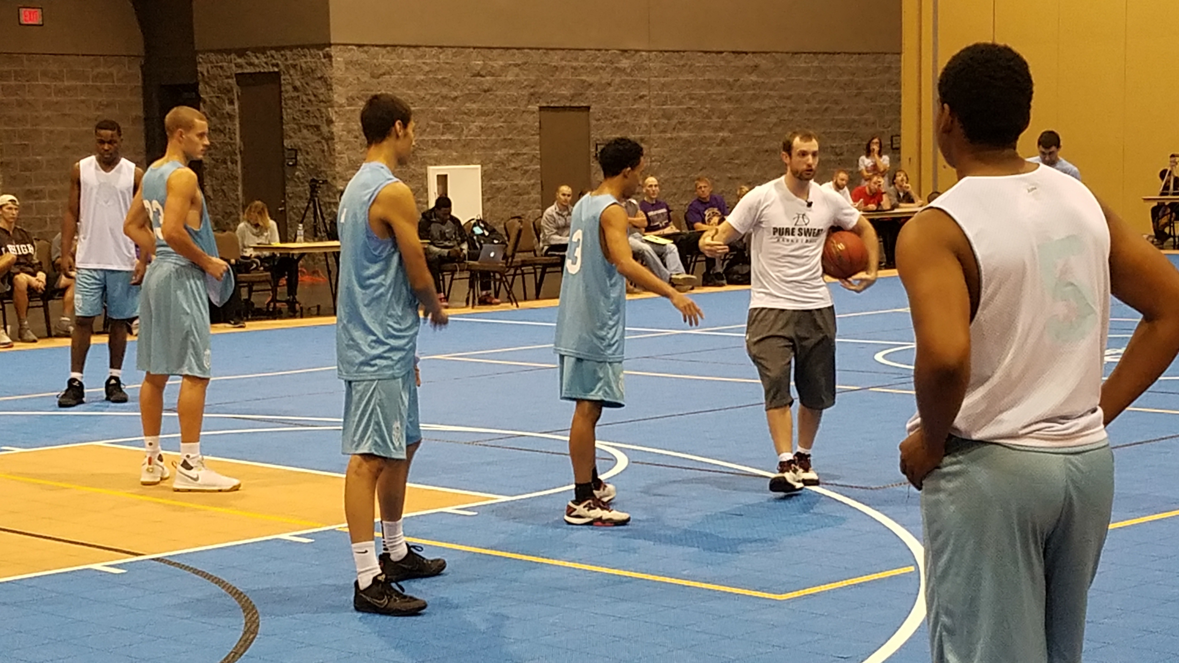 Basketball Coaching Clinics: Pure Sweat Basketball Notes