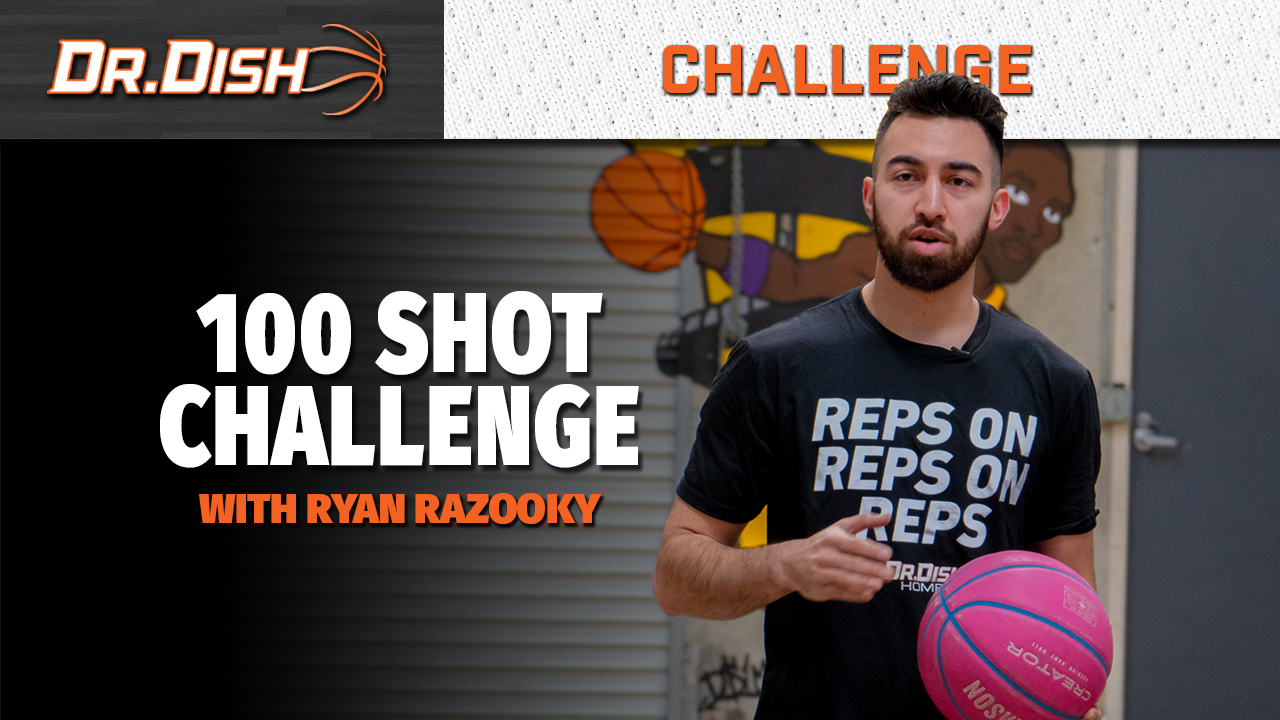 100 Shot Challenge from Pro Skills Trainer Ryan Razooky