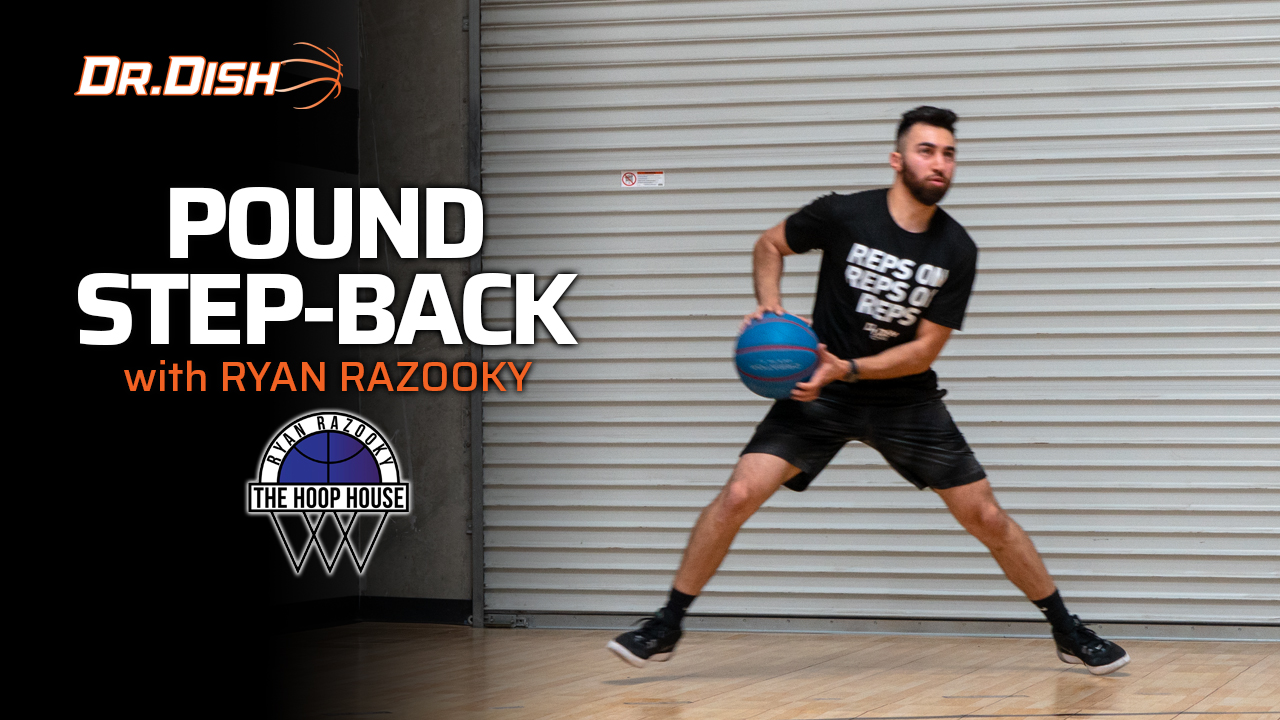 Basketball Drills: Pound Step-Back Drill with Ryan Razooky