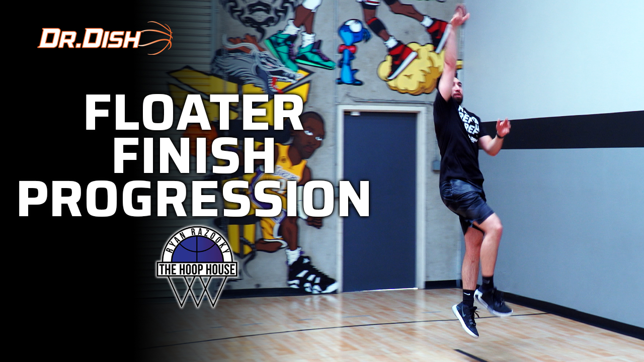 Basketball Drills: Floater Finish Progression with Ryan Razooky