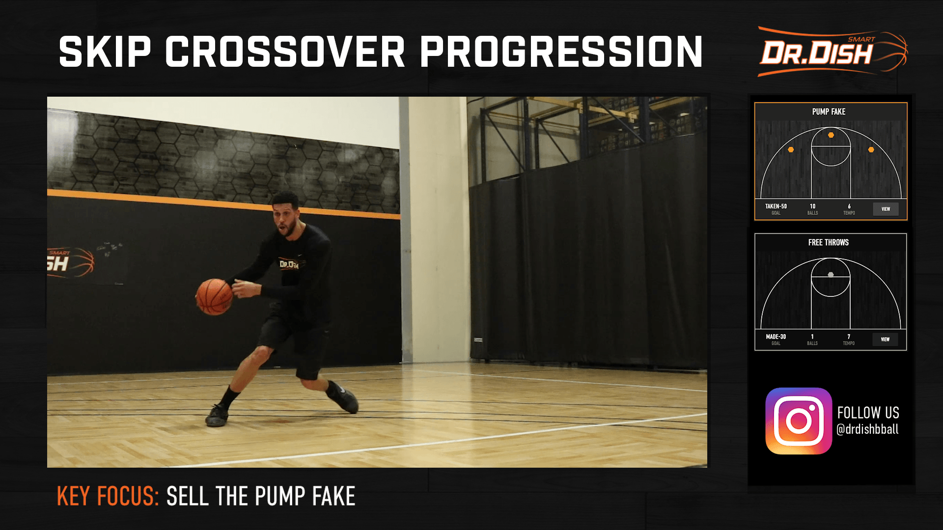 Basketball Drills: Skip Crossover Progression Skill Builder Workout