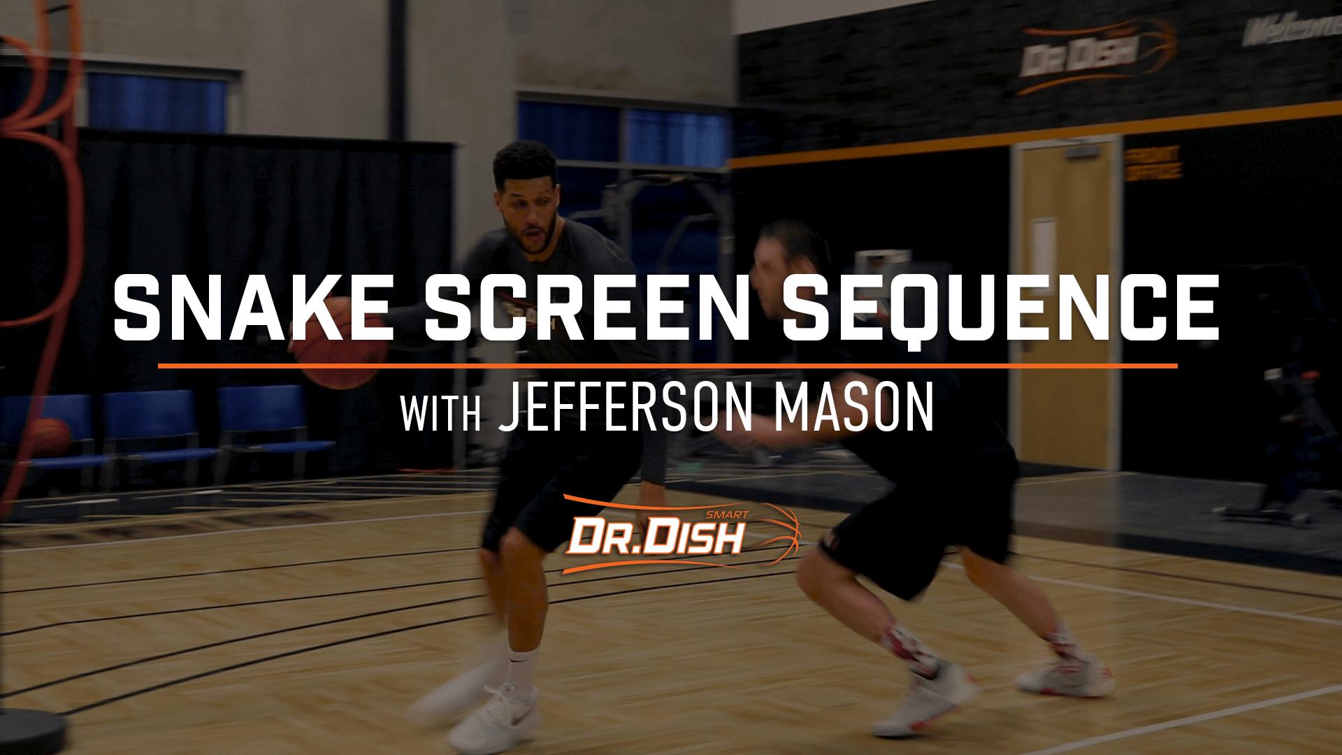 Basketball Drills: Snake Screen Progression