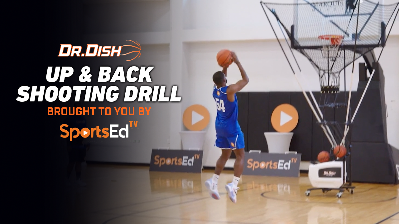 Basketball Drills: Up and Back Shooting Drill with SportsEdTV
