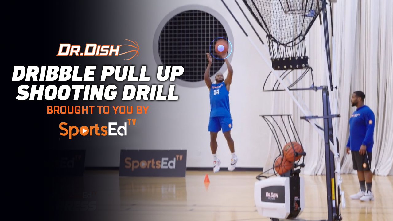 Basketball Drills: Dribble Pull Up Shooting with SportsEdTV