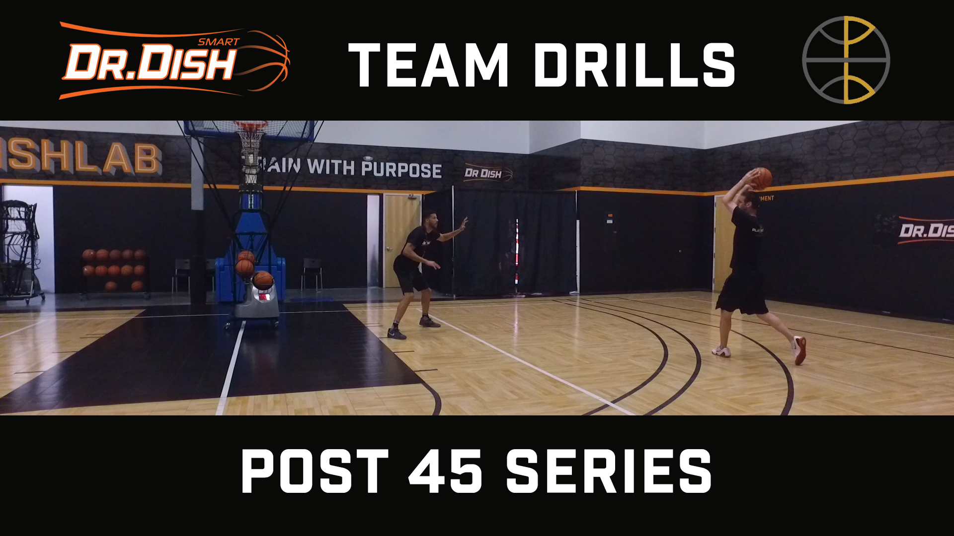 Basketball Drills: Post 45 Series with Positionless Basketball
