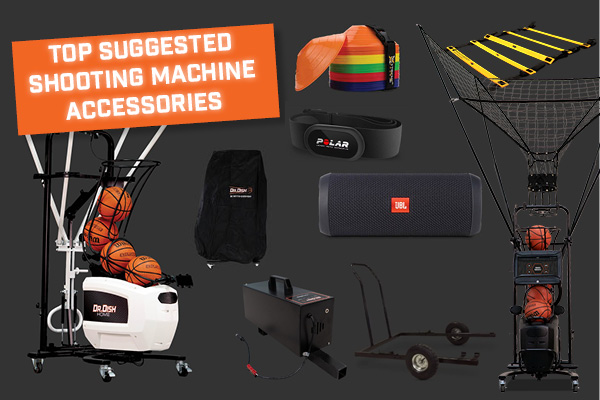 Suggested Accessories for your Basketball Shooting Machine