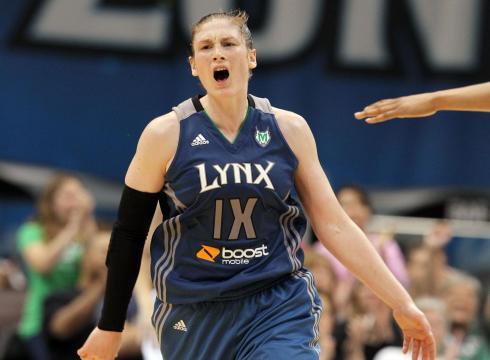 Basketball Training: Minnesota Lynx Guard, Lindsay Whalen at the #DishLab