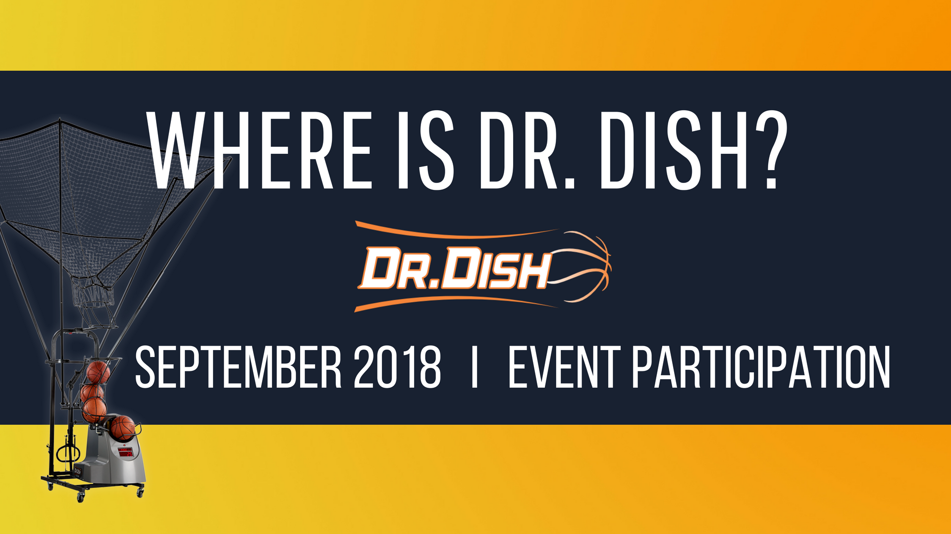 Where is Dr. Dish: September 2018
