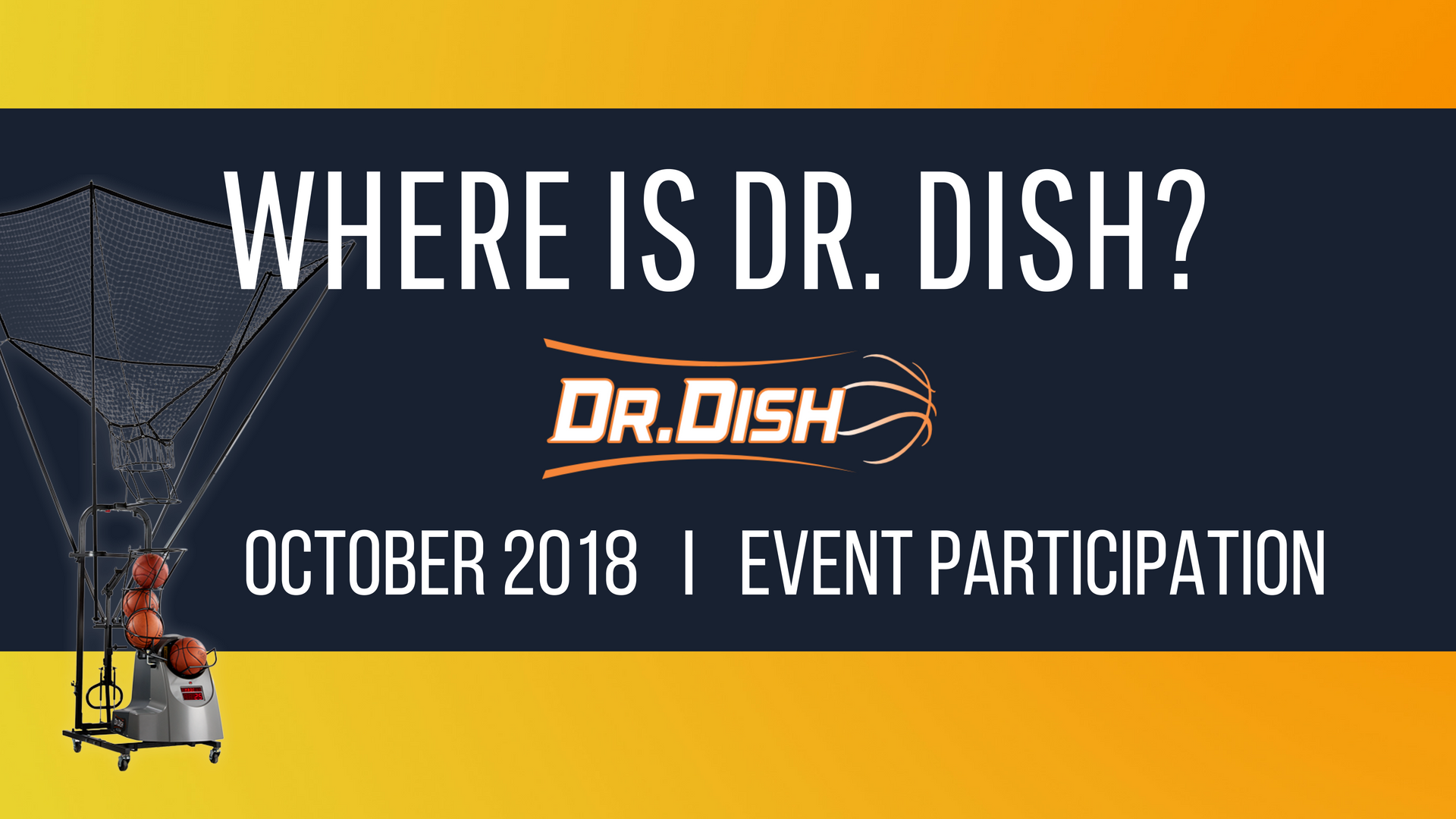Where is Dr. Dish: October 2018