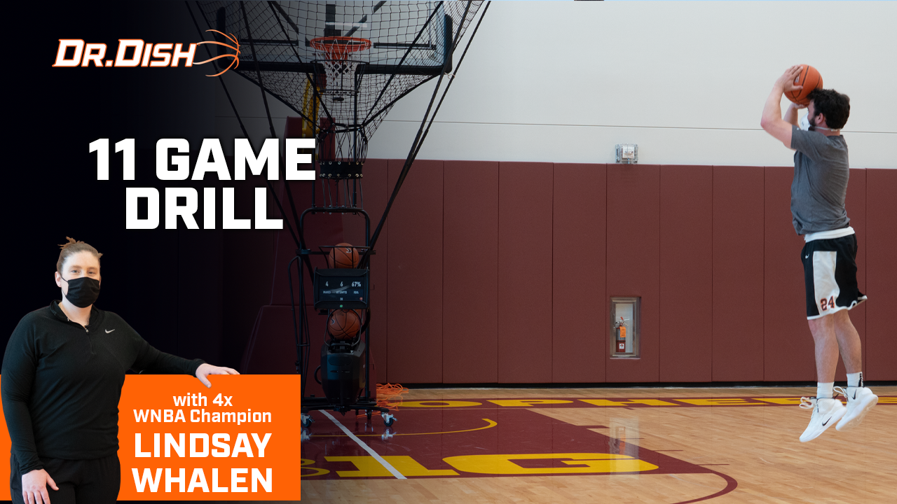 Basketball Shooting Drill: 11 Game Drill with Lindsay Whalen