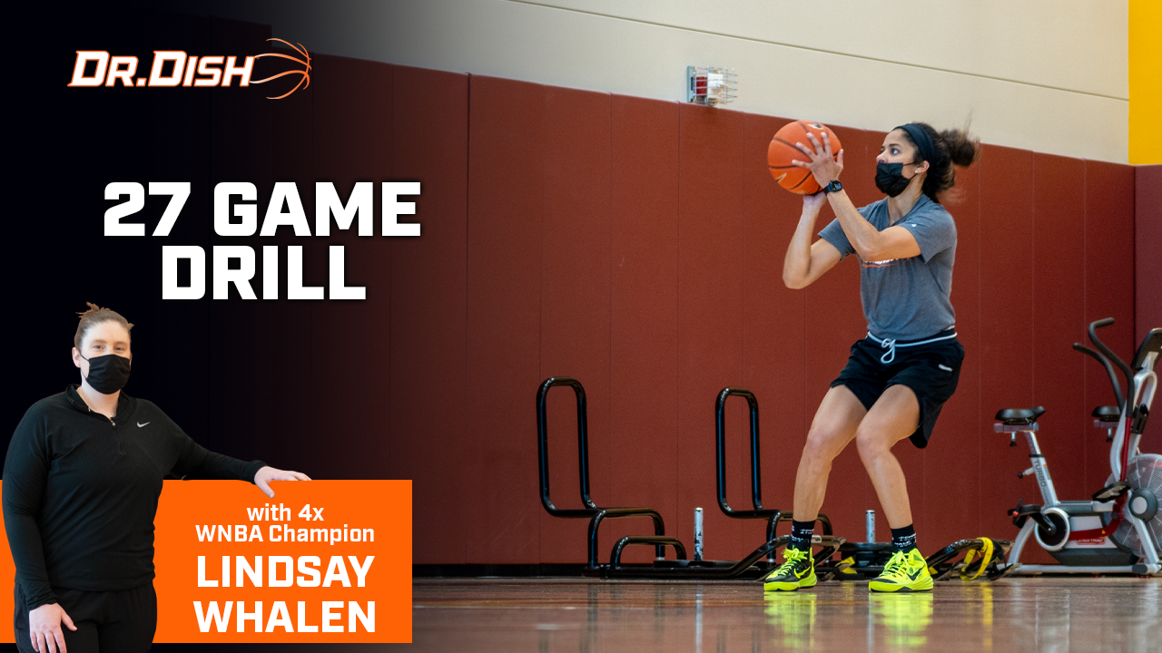 Basketball Drills: 27 Game with 4x WNBA Champion Lindsay Whalen