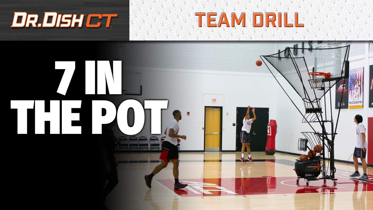 Louisville Basketball Shooting Drill: 7 In the Pot