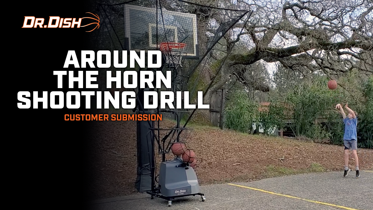 Around The Horn Shooting Drill - 35 Reps in 2 and Half Minutes