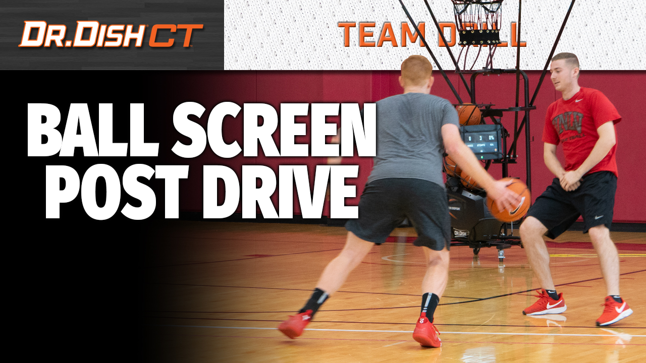 Basketball Drills: UNLV Ball Screen Post Dive