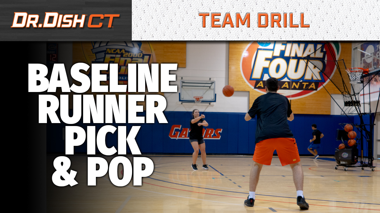 Basketball Drills: Florida Gators Baseline Runner Pick & Pop