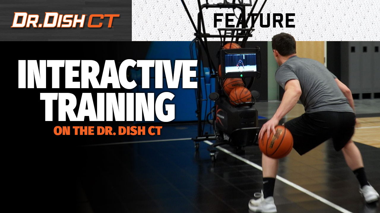 Train Alongside Pro Basketball Trainers with the NEW Dr. Dish CT (VIDEO)