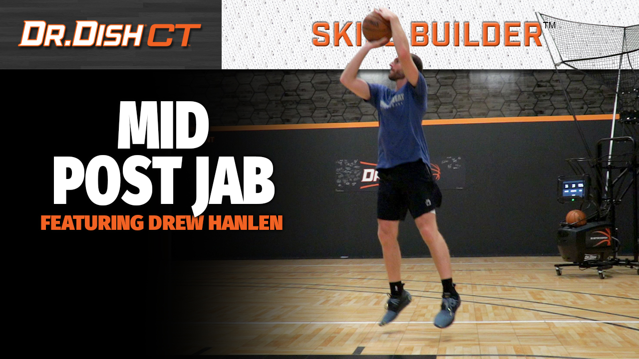 Basketball Drills: Mid Post Jab Workout with Drew Hanlen