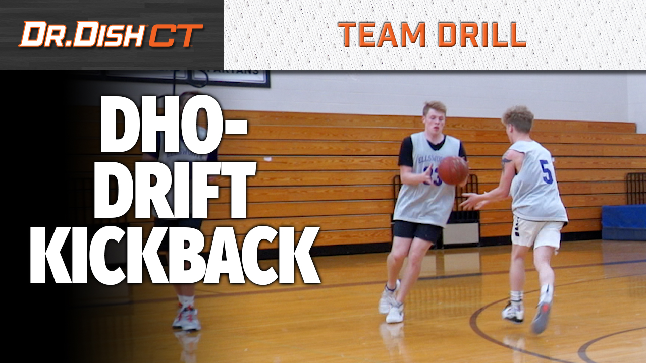 Basketball Shooting Machine Drills: DHO Drift Kick Back