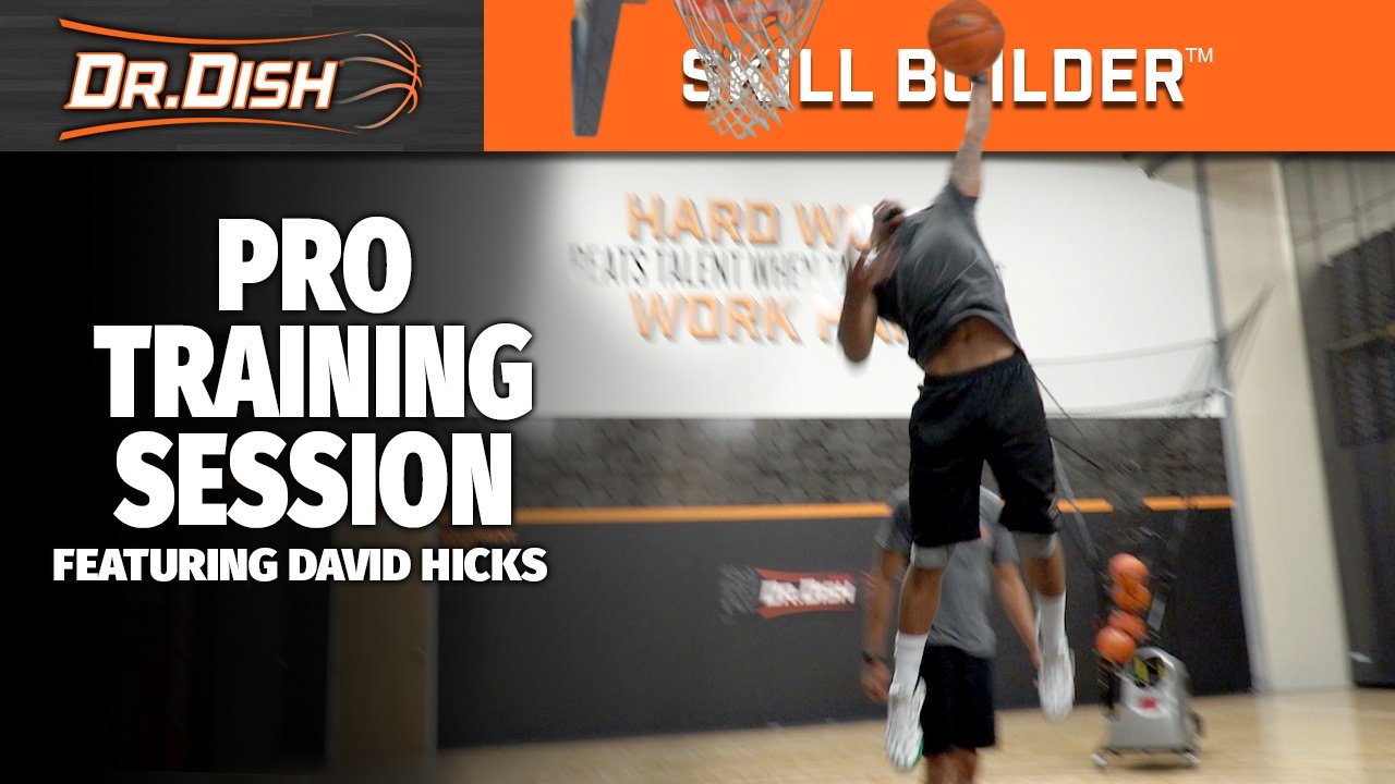 Pro Basketball Workout: Game-Like Preparation with David Hicks