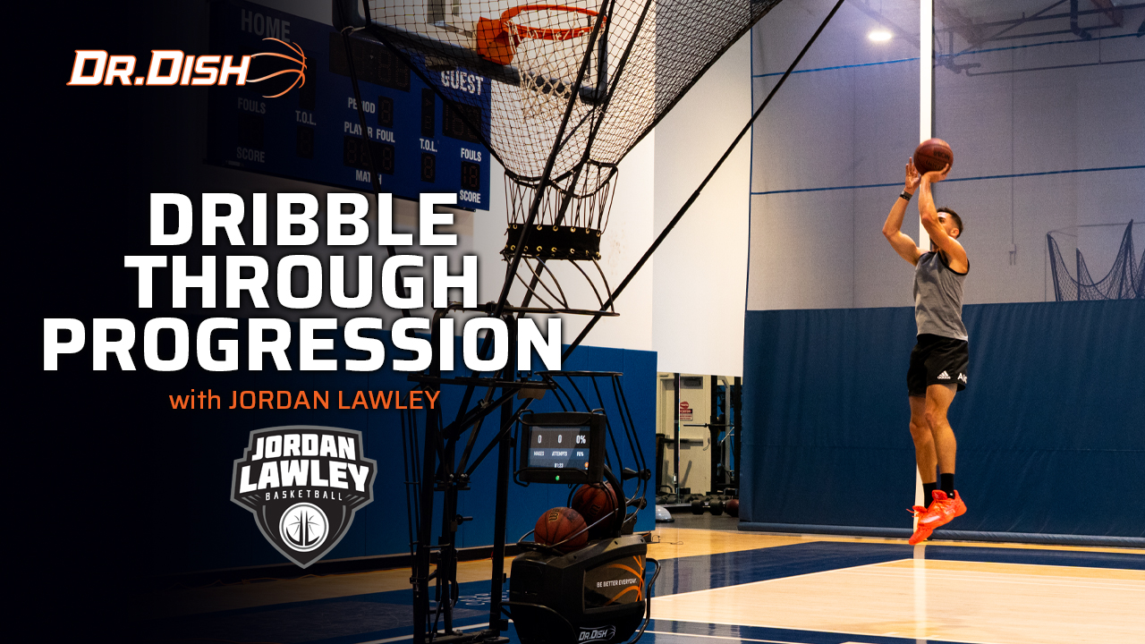 Basketball Drills: Steve Nash Dribble Through Progression