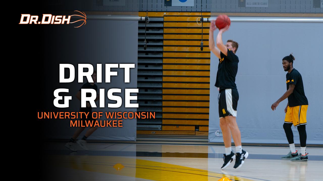 UW-Milwaukee Team Basketball Shooting Drills: Drift and Rise