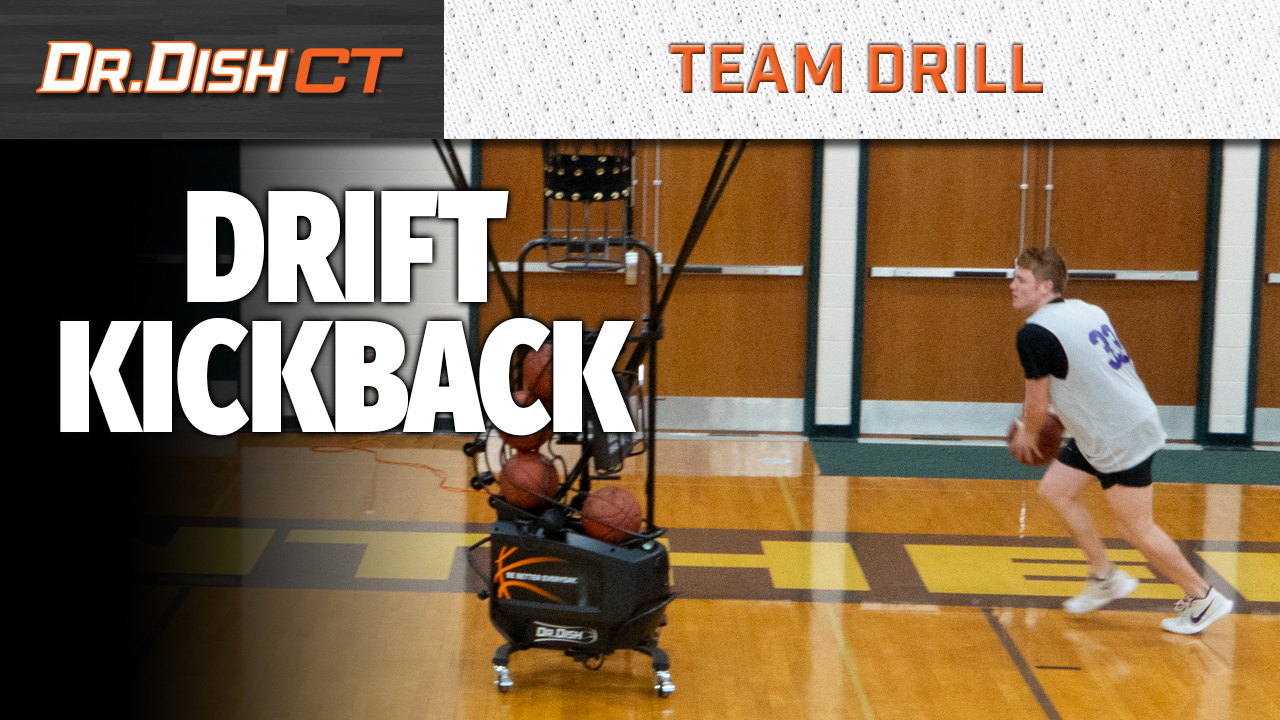 Team Shooting Drills: Drift Kickback with Positionless Basketball