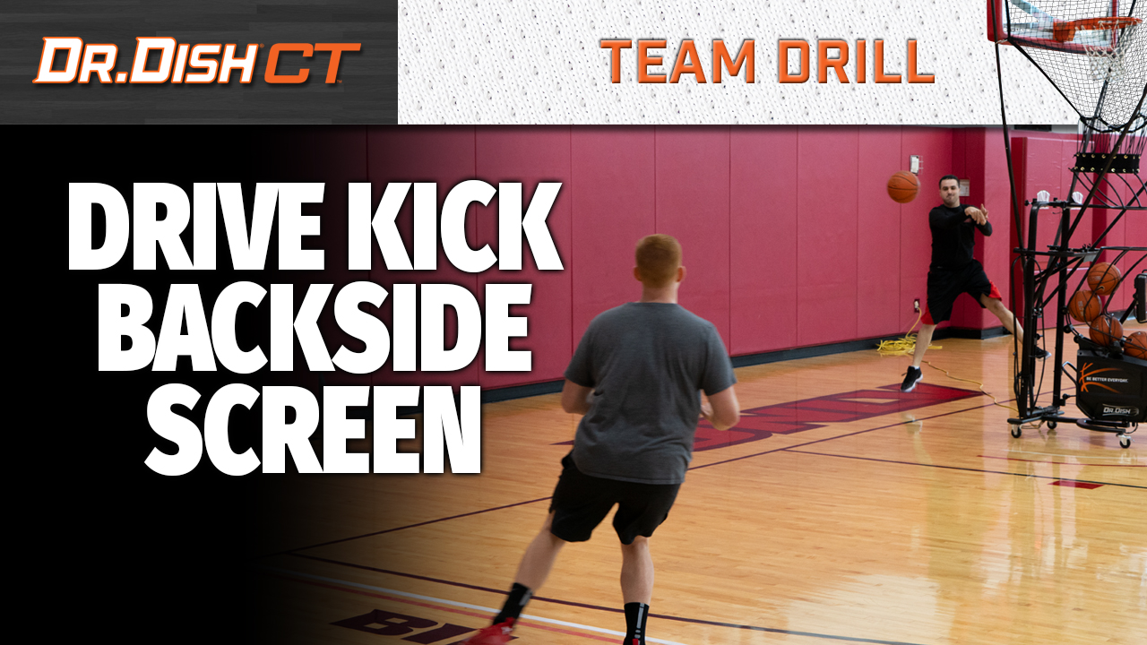 Basketball Drills: UNLV Drive Kick Backside Screen