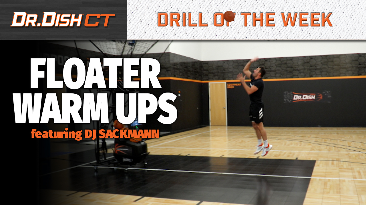 Basketball Drills: Floater Warm Up with DJ Sackmann