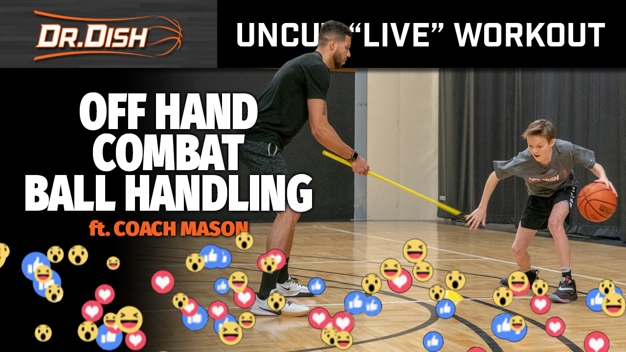 Ball Handling Drills: Off Hand Combat Progression