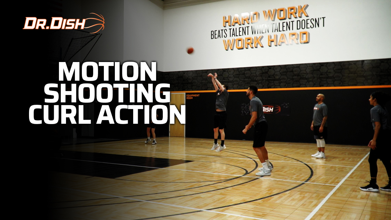 Team Shooting Drills: Motion Curl Action