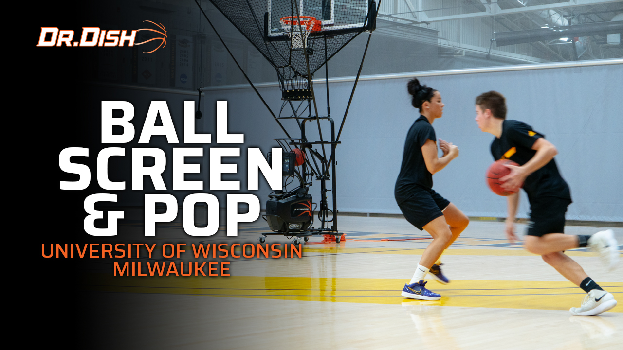 Team Shooting Drills: UW-Milwaukee Ball Screen and Pop