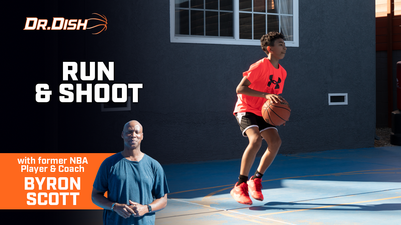 Byron Scott Dr. Dish Shooting Drill: Run & Shoot