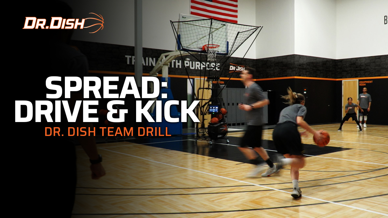 Team Shooting Drills: Spread Drive & Kick