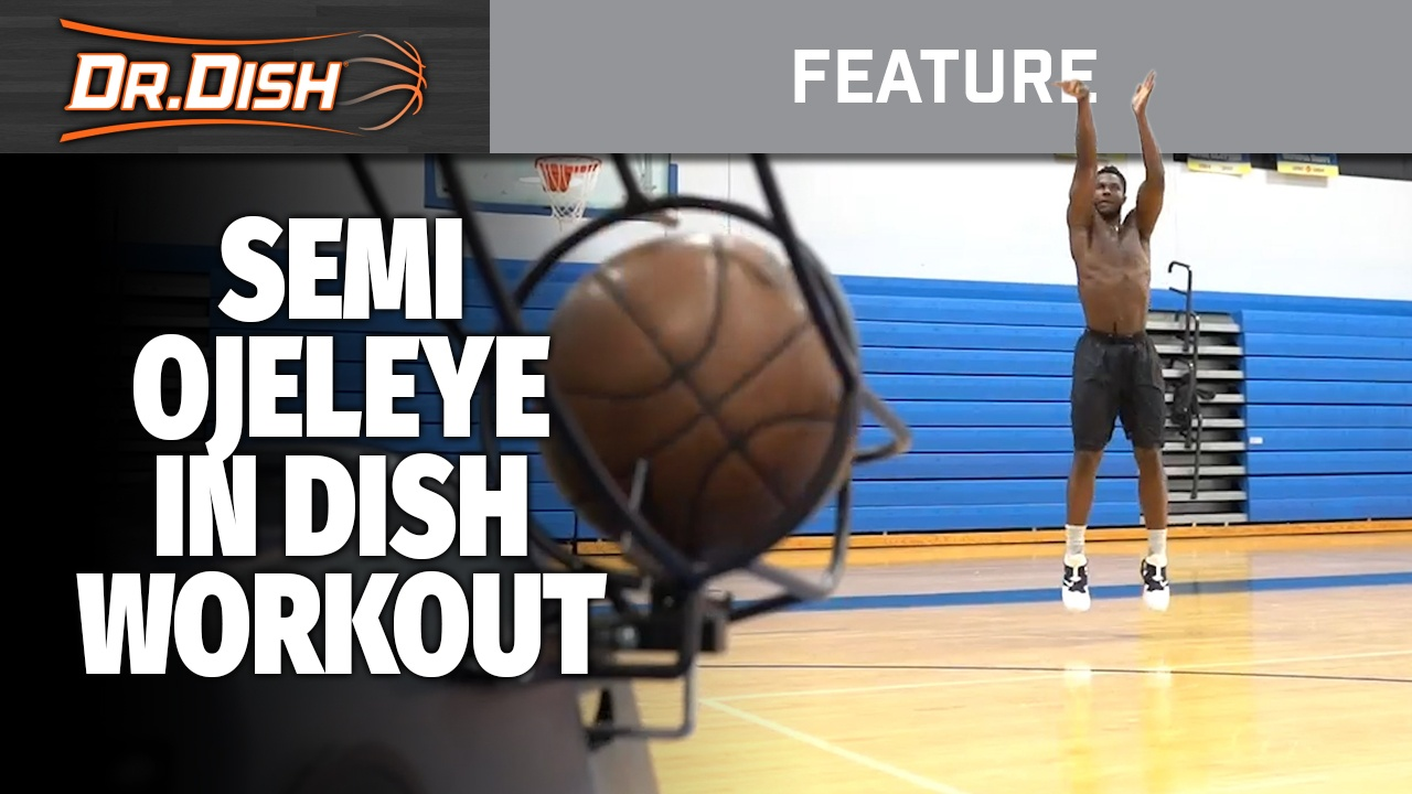NBA Shooting Workout with Boston Celtics SG/SF Semi Ojeleye
