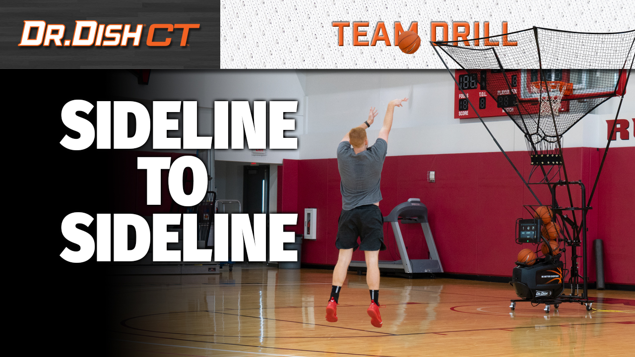 Basketball Drills: UNLV Sideline to Sideline Shooting