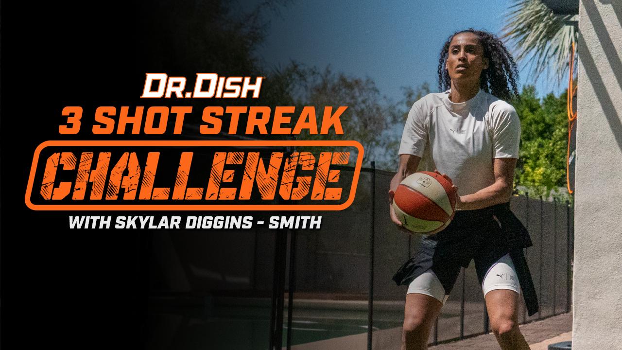 Basketball Drills: 3 Shot Streak Challenge with Skylar Diggins-Smith