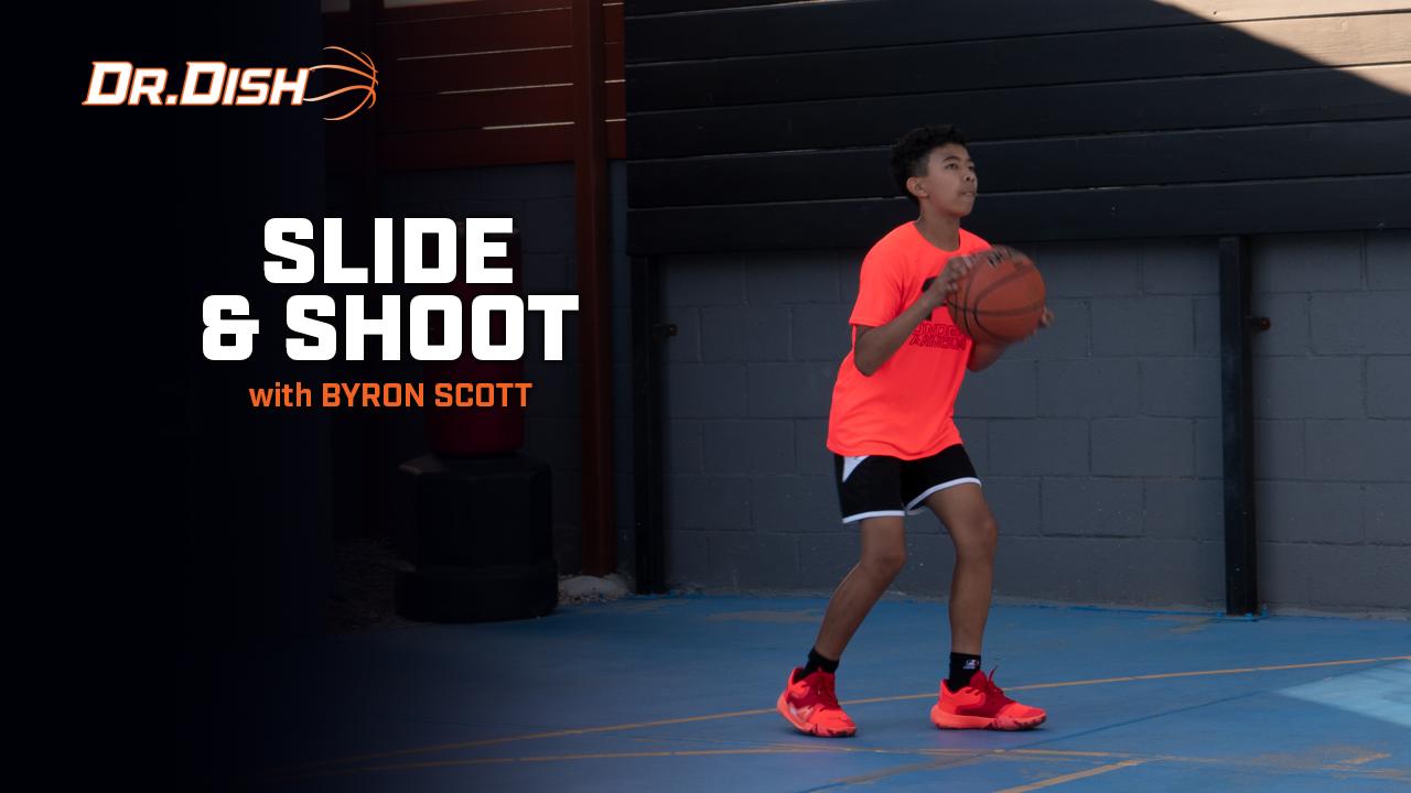 Byron Scott Dr. Dish Shooting Drill: Slide & Shoot
