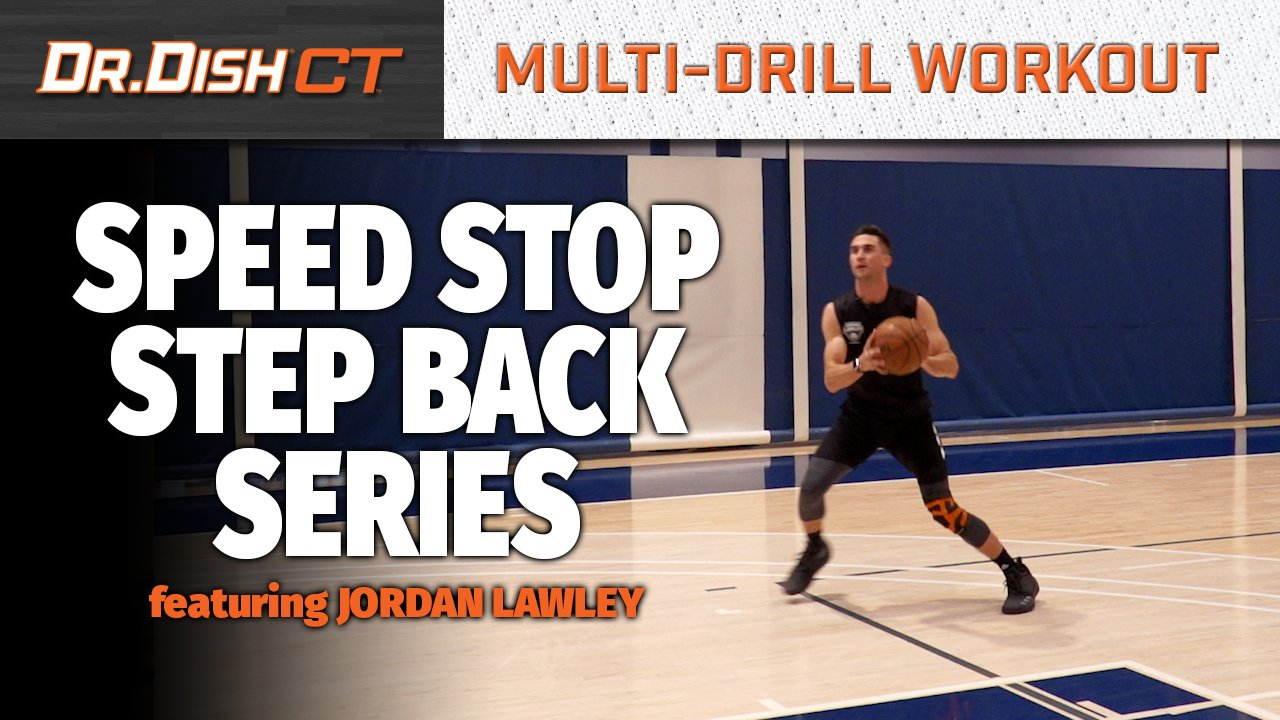Basketball Drills: Speed Stop/Touch Step Back Series with Jordan Lawley