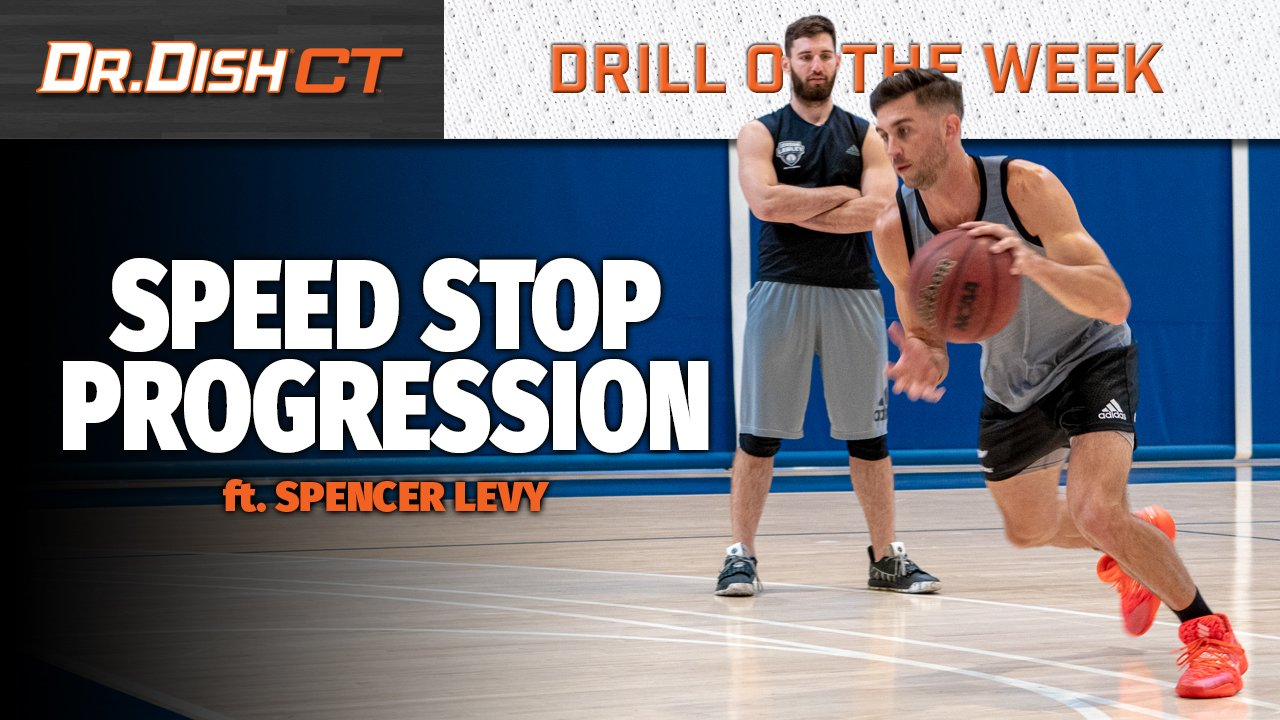 Basketball Drills: Speed Stop Progression with Spencer Levy