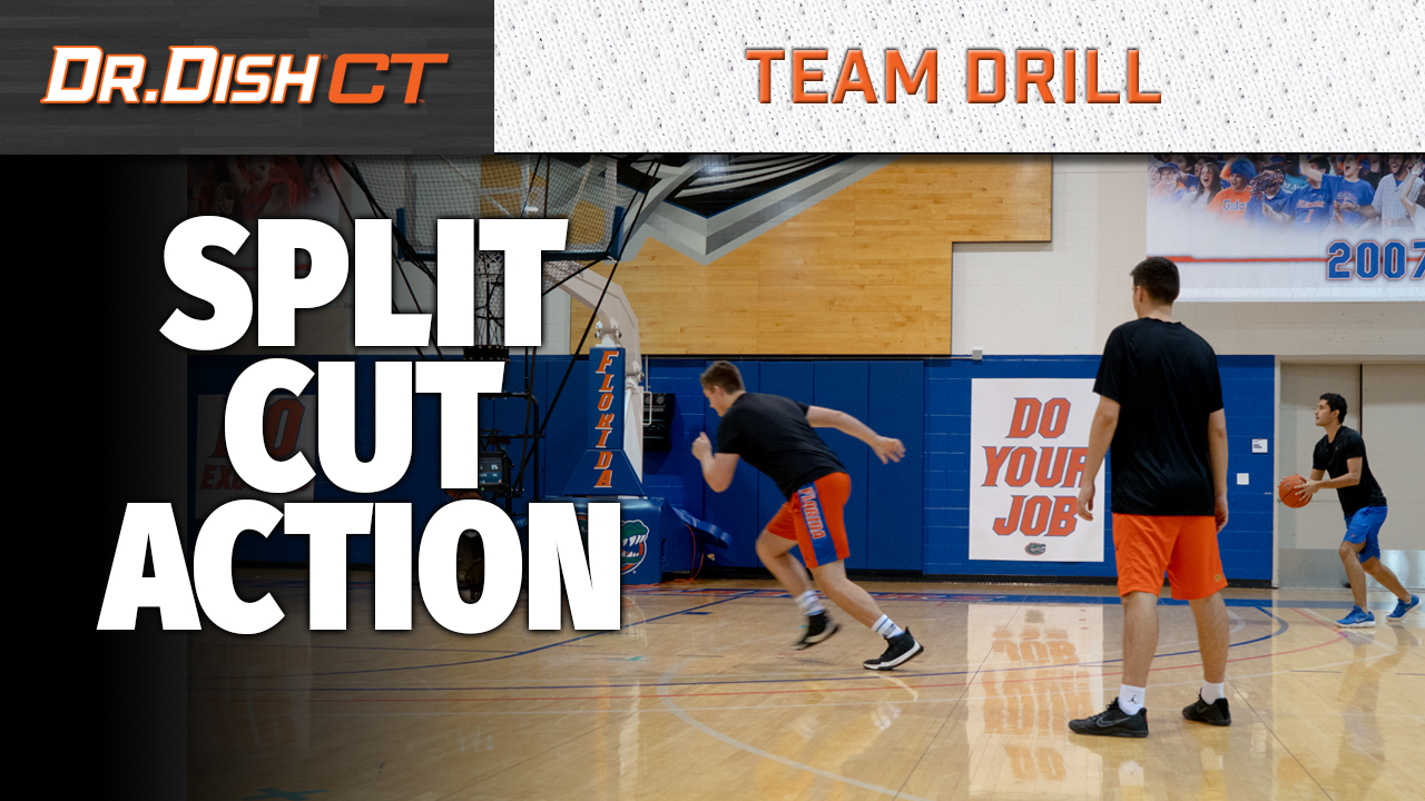Florida Gators Team Drill: Split Cut Action