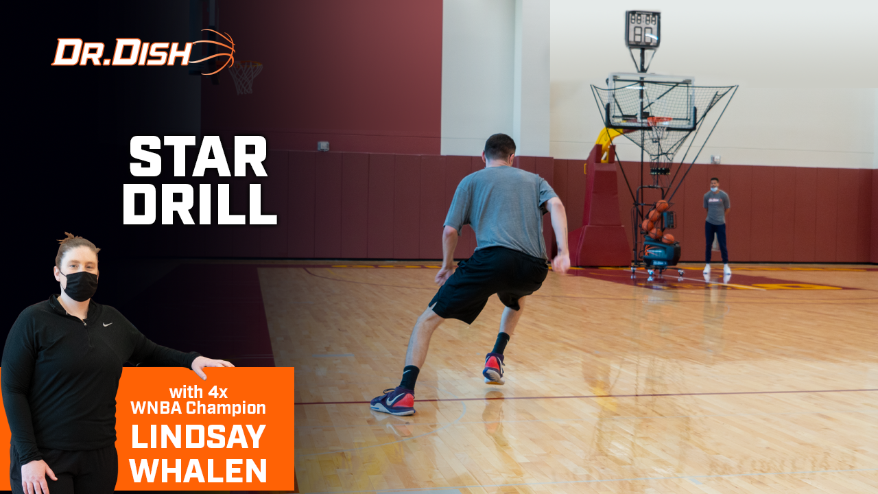 Basketball Drills: Star Drill with Lindsay Whalen