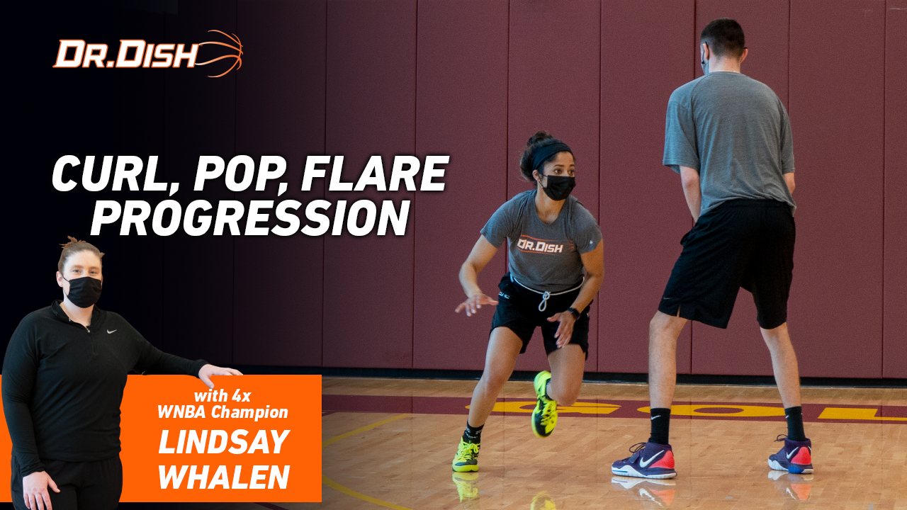 Basketball Drills: Curl, Pop, Flare Progression with Lindsay Whalen