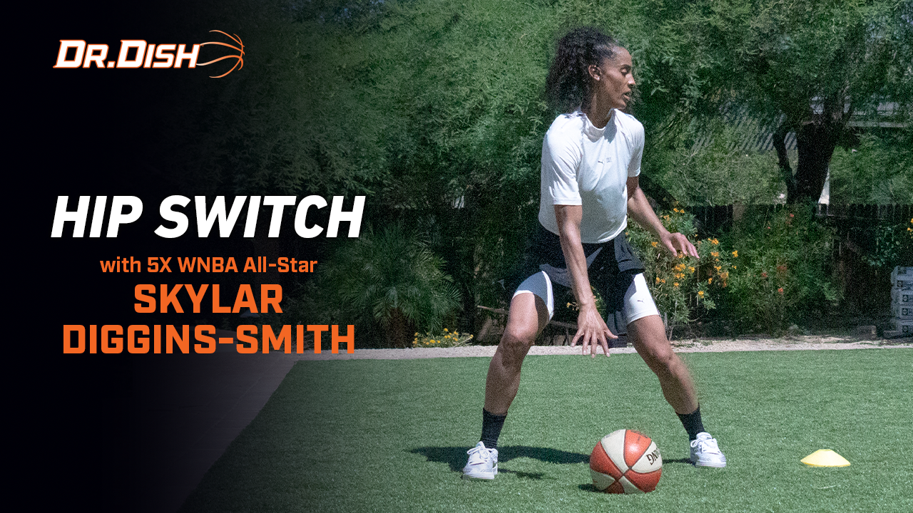 Basketball Drill: Hip Switch with Skylar Diggins-Smith