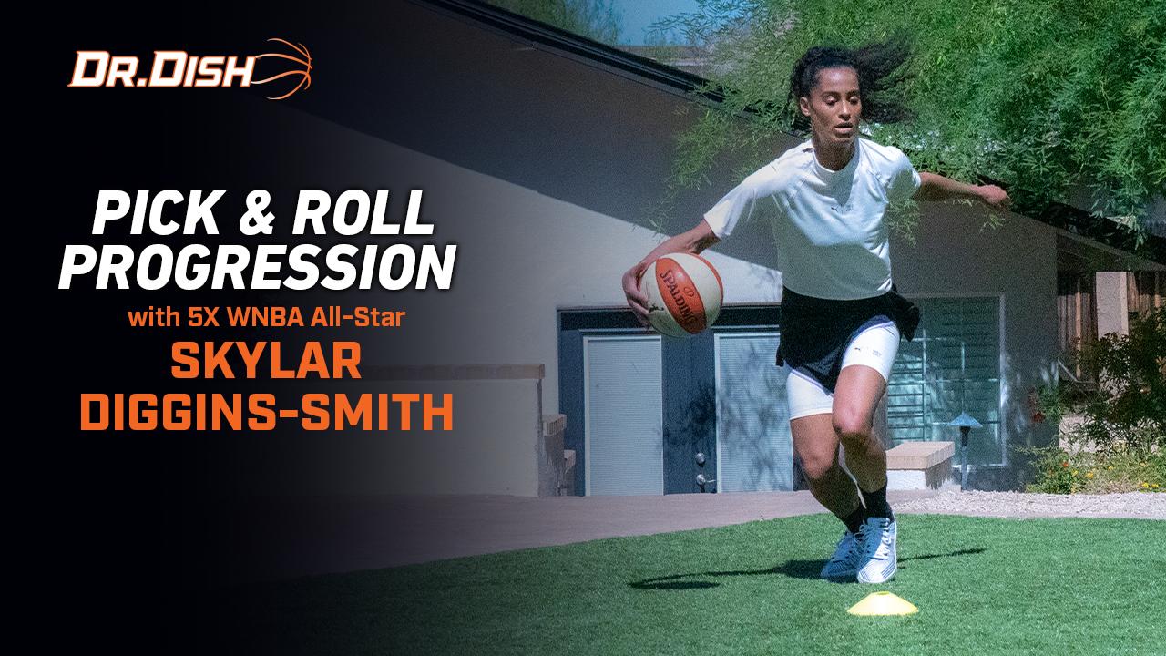 Basketball Drill: Pick & Roll Progression w/Skylar Diggins-Smith