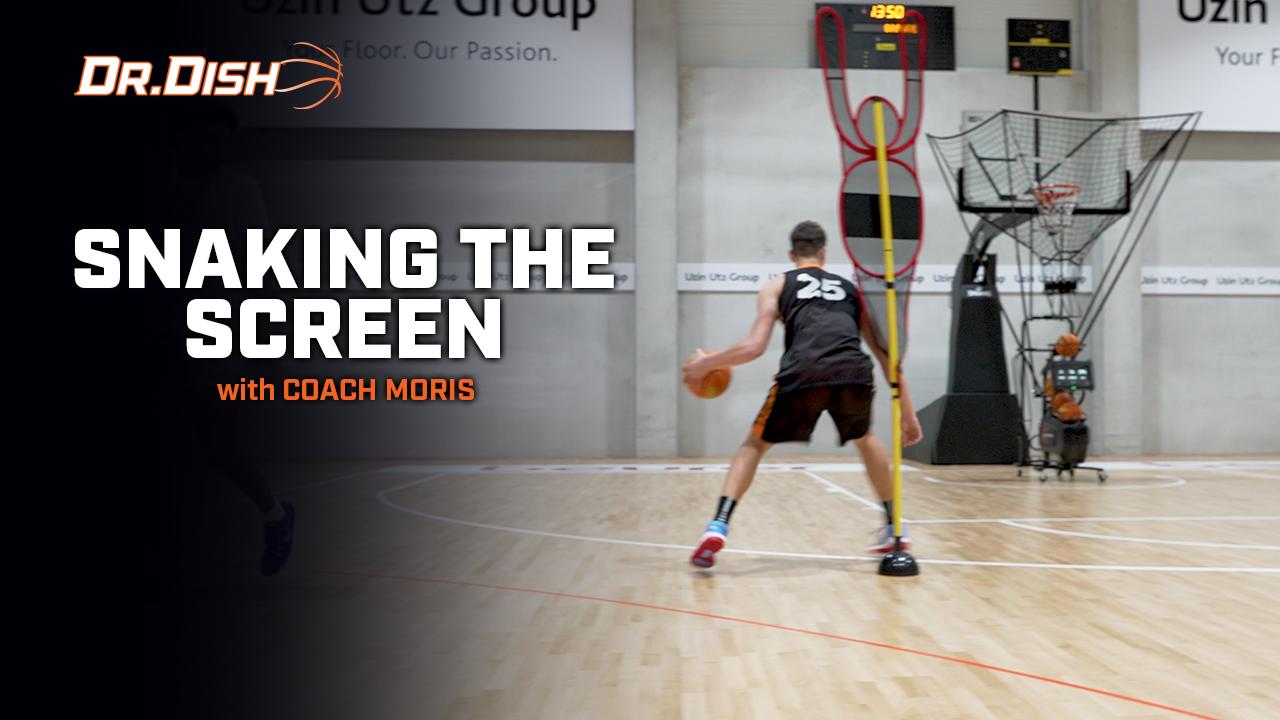 Basketball Drills: Snaking the Screen with Coach Moris Hadzija