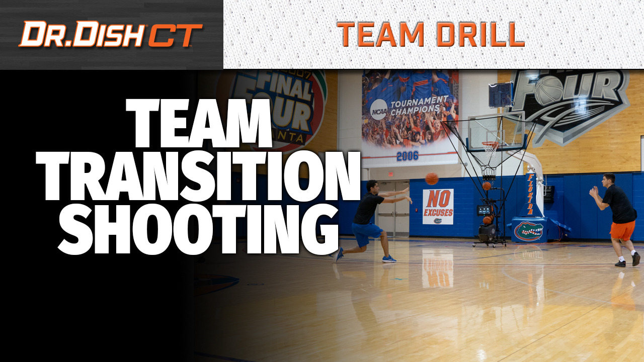 Florida Gators Team Transition Shooting Progression