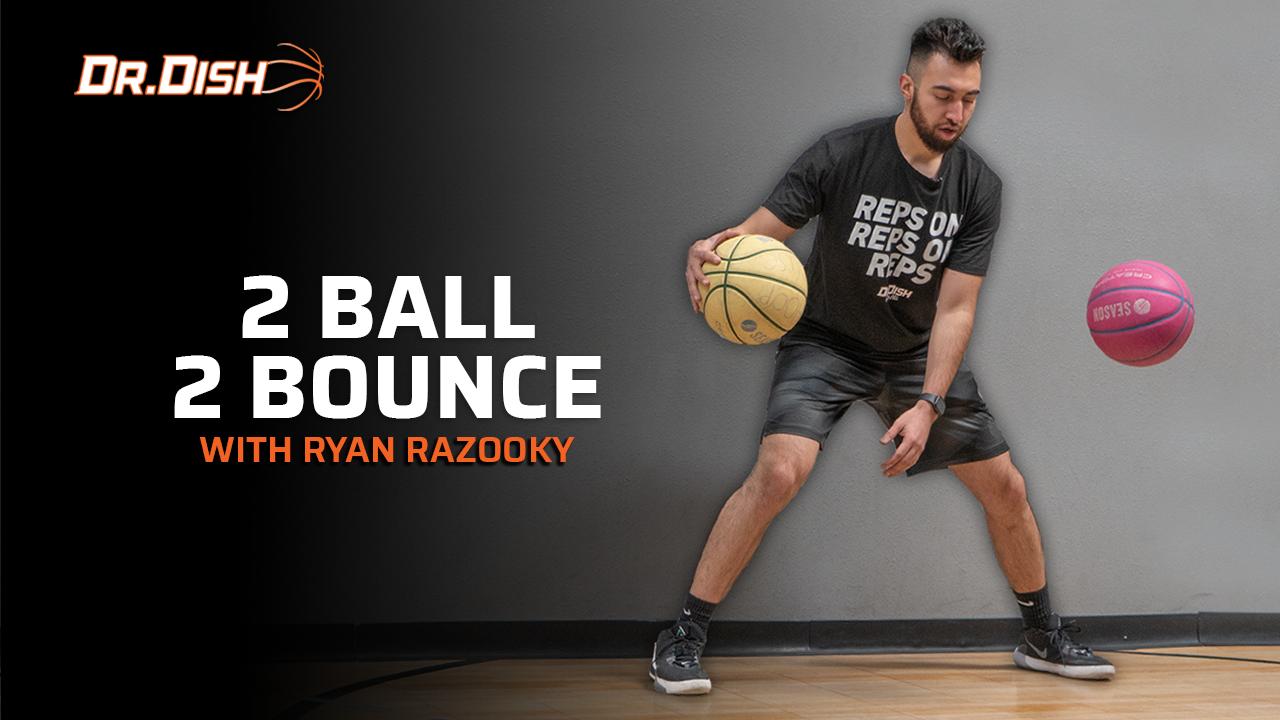 Basketball Drills: 2 Ball 2 Bounce with Ryan Razooky
