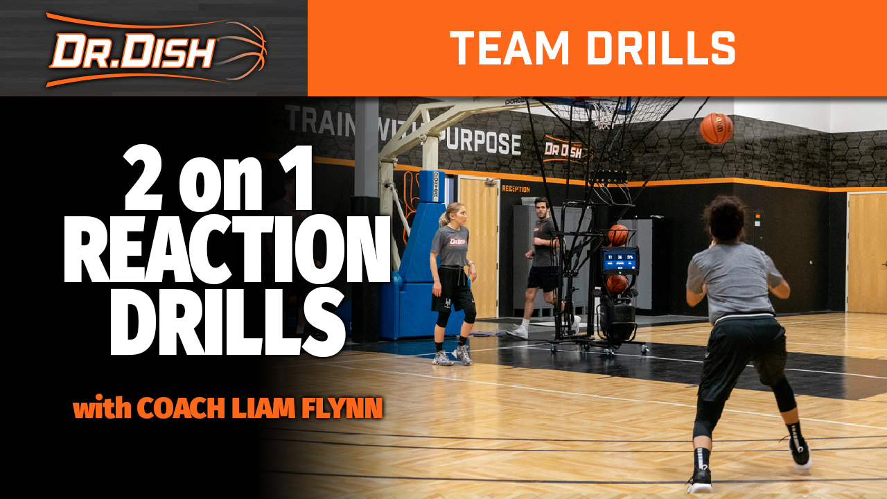 Team Drills: 2 on 1 Reaction Drills with Coach Liam Flynn
